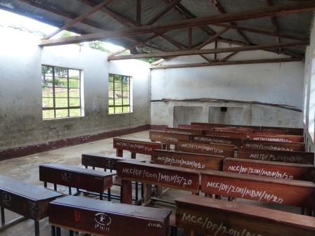 Main school classroom