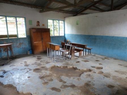 Deaf Unit classroom
